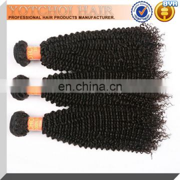 6A Grade 100% Virgin Malaysian Kiny Curly Hair Weave Bundles