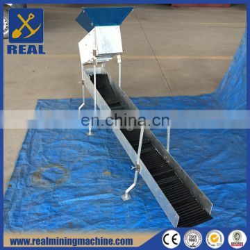 Gold Washing Sluice Box For Gold Recovery With Carpet Mat Hot Sale