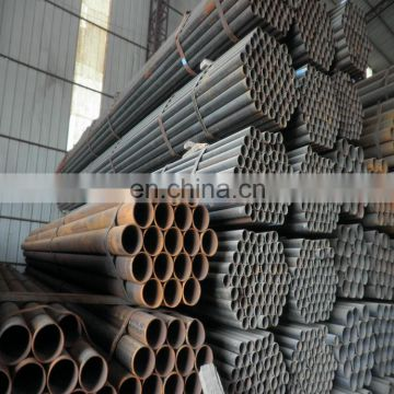 best sell ERW steel pipe / Black round steel Pipe / black tube