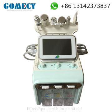 Original Korea Newest Second Generation 6 In 1 H2 O2 hydrafacial Hydradermabrasion Skin Beauty Machine