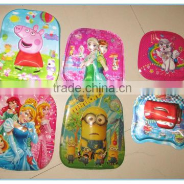 New custom PP,PET lenticular cover for child schoolbag