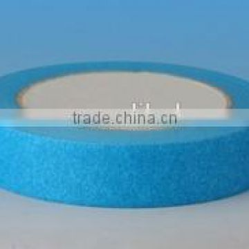 Blue crepe paper masking tape / blue painters tape/ cream Masking tape