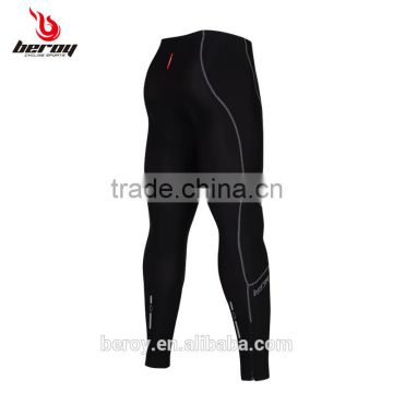 BEROY custom men cycling bicycle bike tights,bike riding pants with cycling pad