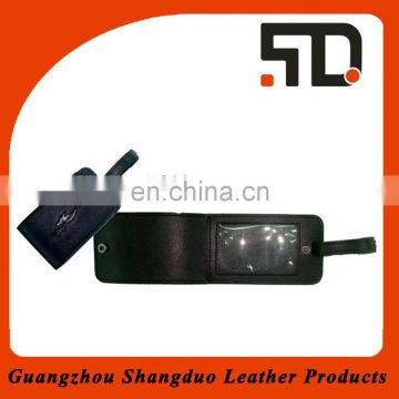 China Manufacture Price Fashion Leather PVC Name Badges