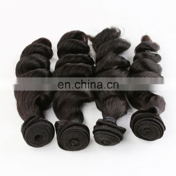 Brazilian loose wave hair virgin remy hair
