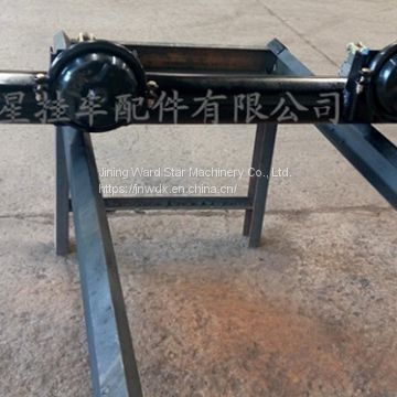 Trailers and axle manufacturers supply various specifications.