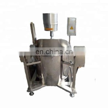 High capacity automatic mixing industrial popcorn making machine for popular mushroom popcorns of all flavors caramel