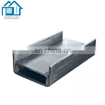 Standard sizes Steel Profiles galvanized UPN u channel steel price