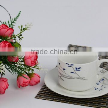 porcelain coffee mug with good quality and cheap price produced in shandongceramic pakistan tea set
