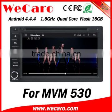 Wecaro WC-MC7232 Android 4 4 4 car dvd player HD for MVM 530 radio Steering  Wheel Control