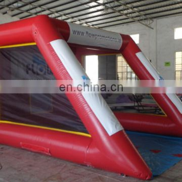 Outdoor inflatable football toss shooting game inflatable football darts