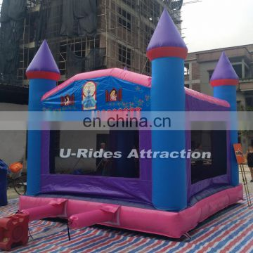 PVC tarpaulin inflatable jumping bouncer for amusement