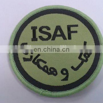 Custom clothing woven patches colorful embroiderd garment patche nice patches as apparel