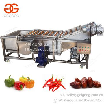 Industrial Automatic Palm Date Potato Cleaner Washer Apple Carrot Drying Production Line Fruit and Vegetable Washing Machine
