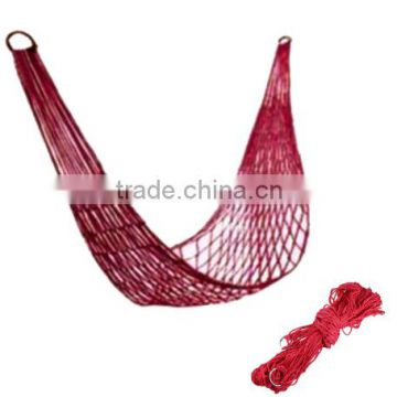 Portable Nylon Outdoor Netting Double Camping Hammock Tent