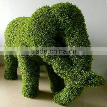 grass product good color fasteness uv proof fake plant animal