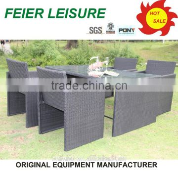 2014 new design garden table chairs sale