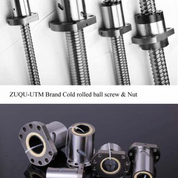 Customised length ball screw cnc rolled ball screw OEM 1605 ball screw