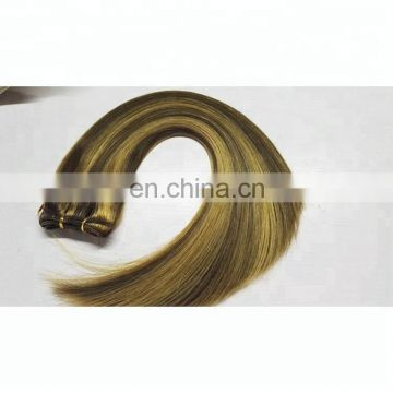 factory indian hair double drawn piano hair weft best weave hair