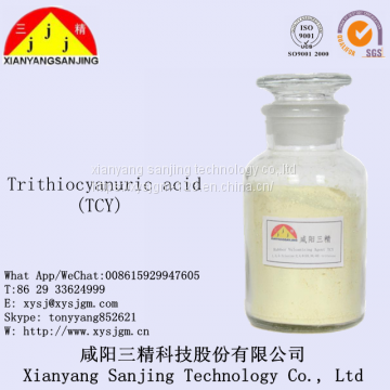 Rubber vulcanizer Trithiocyanuric acid (TCY) CAS:638-16-4