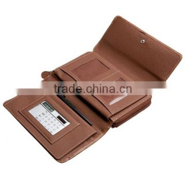 Good quality Factory price OEM RFID Big Fat Flap Women Wallet