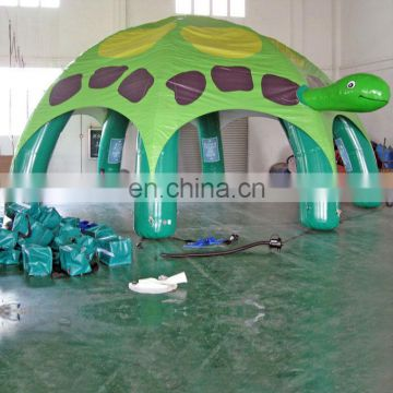 EN14960 tortoise Inflatable Tents with 6 pillars/simple camping tent