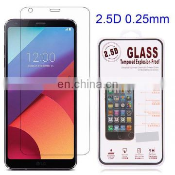 Wholesale For LG G6 Full Cover 9H 2.5D 0.25mm Tempered Glass Screen Protector