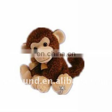 Doll-stuffed&plush toy Curious George monkey