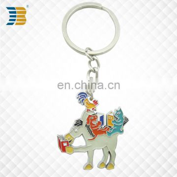 3D animal custom made metal keychain manufacturer in China