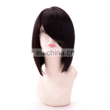 No tangle no shedding unprocessed cambodian full lace wig for white women human hair