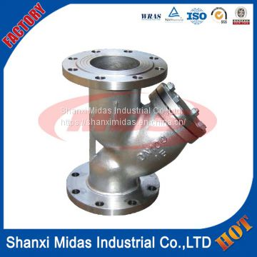 carbon steel class 1500 y strainer for steam