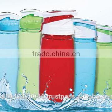 Colorful BPA Free RFL Plastic Water Bottle