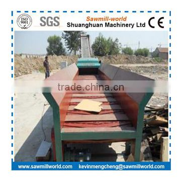 Mobile Diesel Engine Wood Pallet Chipper