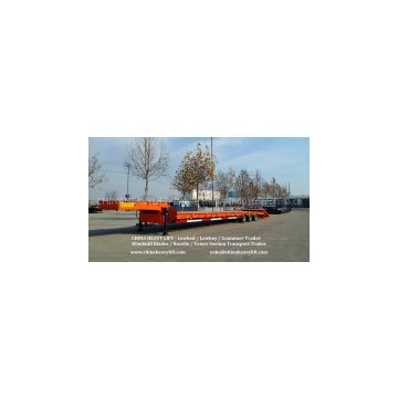 CHINA HEAVY LIFT - One Line Two Axle Lowbed Trailer