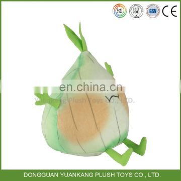 vegetable plush dog toy onion