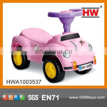 New Design Colorful Kids Swing Car With BB Steering Wheel