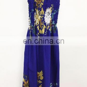 Women Hawaiian Dresses 2 in One