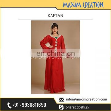 Royal Looking stylish Kaftan Plain Dress Available for Export
