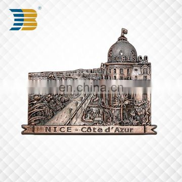 high quality custom metal souvenir refrigerator magnet