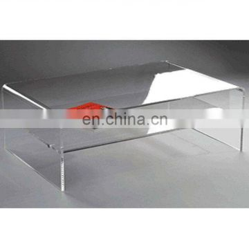 Furniture design acrylic modern glass coffee table