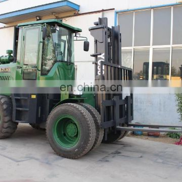 4WD 5ton Rough terrian forklift for sale
