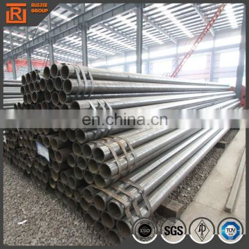 Black weld mild carbon steel pipe for fence