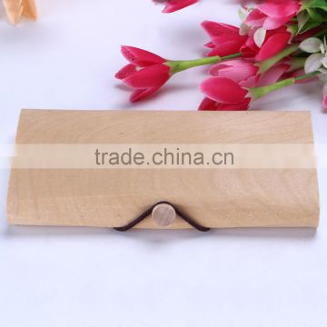 customized logo Wooden Venneer Gift Packaging Box small wooden box