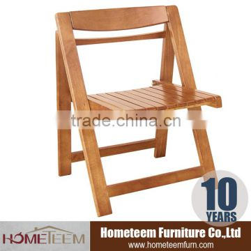 rubber wood folding chair with 4 person dining table and chair
