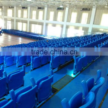 fire-resistant telescopic folding chair,grandstand seating arena retractable seating system,telescopic bleacher for public use