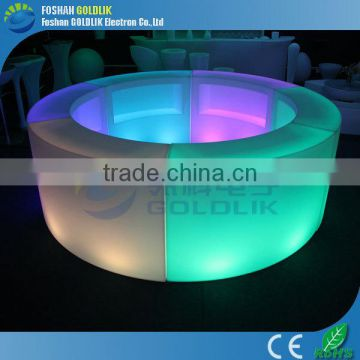 RGB led furniture lighting bar counter design GKT-021BC