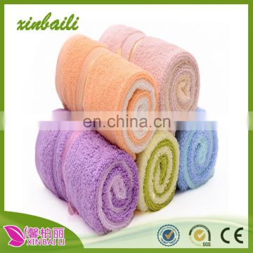 wholesale plain cotton hand towel children towel