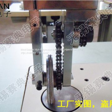 Ultrasonic non-woven fabric welding machine