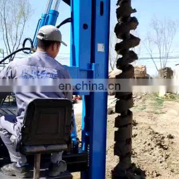 CE Certification Crawler Solar Pile Drilling Rig Driver Bore Hole Drilling Machine Price For Sale
