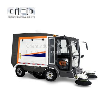 OR-S2000 Electric road sweeper machine